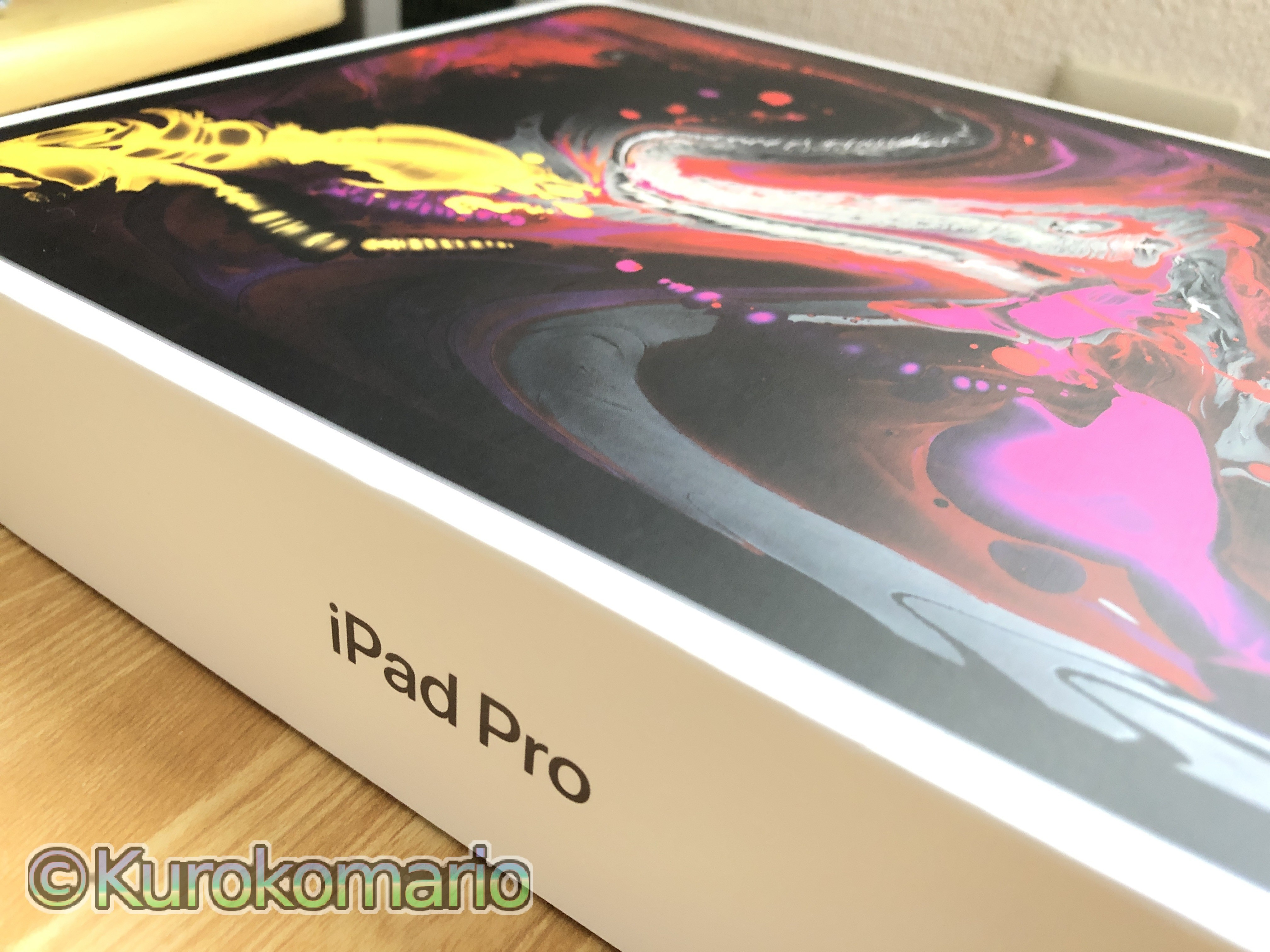iPad Pro(第3世代12.9インチ)がやってきた!!!