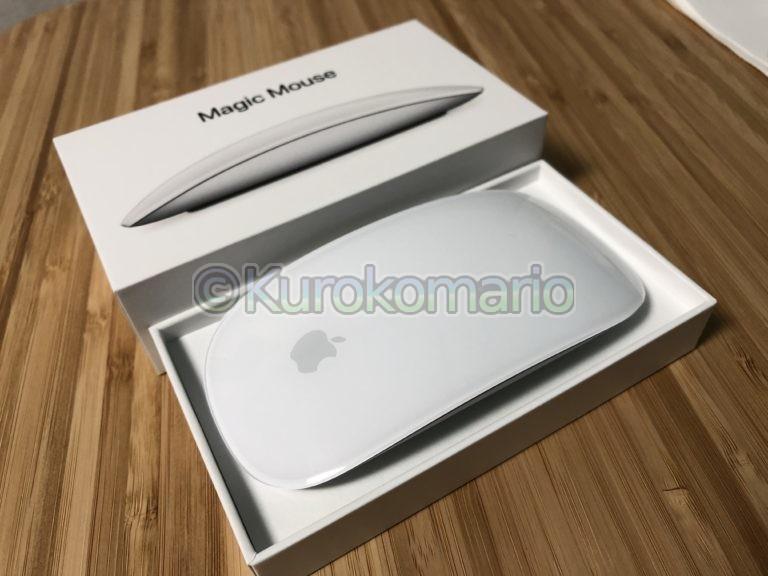 【Apple】iPad用にMagic Mouse 2を買っちまったので開封レビュー